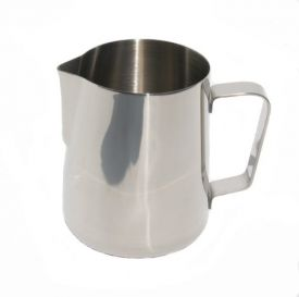 Enlarge Saeco FROTH12 Stainless Steel Milk Froth Pitcher - 12 oz